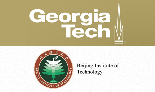 A composite image of the Georgia Institute of Technology and Beijing Institute of Technology logos.